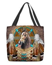 Horse Native  All-over Tote back