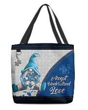 Autism Accept Understand Love  All-over Tote front