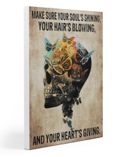 Skull Your Soul's Shining 20x30 Gallery Wrapped Canvas Prints front