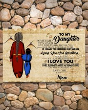 Native To My Daughter Gift For Daughter 17x11 Poster aos-poster-landscape-17x11-lifestyle-15