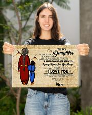 Native To My Daughter Gift For Daughter 17x11 Poster poster-landscape-17x11-lifestyle-19