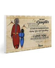 Native To My Daughter Gift For Daughter 30x20 Gallery Wrapped Canvas Prints thumbnail