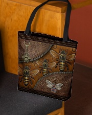 Love Bee Animal For Bee Lovers All-over Tote aos-all-over-tote-lifestyle-front-02