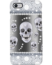 Skull - Silver Phonecase Phone Case i-phone-8-case