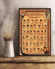 Native American - Symbols And Interpretations 11x17 Poster lifestyle-poster-3