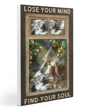 Hunting Lose Your Mind Find Your Soul Gallery Wrapped Canvas Prints tile