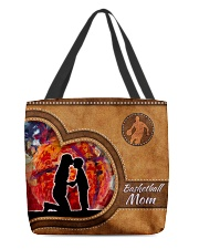 Basketball mom loves you sport    All-over Tote front