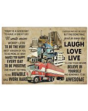 Truck Today Is Good Day 17x11 Poster front
