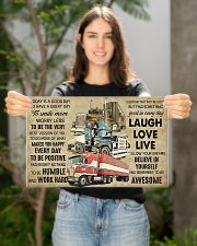 Truck Today Is Good Day 17x11 Poster poster-landscape-17x11-lifestyle-19