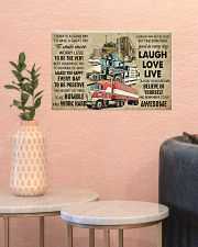 Truck Today Is Good Day 17x11 Poster poster-landscape-17x11-lifestyle-21