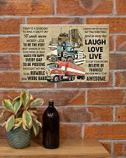 Truck Today Is Good Day 17x11 Poster poster-landscape-17x11-lifestyle-23