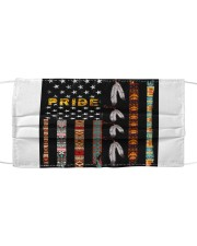Pride Native Flag American Mask tile