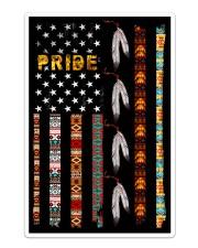 Pride Native Flag American Sticker tile
