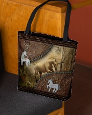 Magical Unicorn For Unicorn Lovers  All-over Tote aos-all-over-tote-lifestyle-front-02