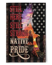 "Native American Pride 11.5""x17.5"" Garden Flag front"