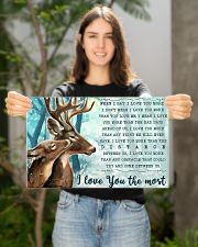 Hunting Deers I Love You The Most 17x11 Poster poster-landscape-17x11-lifestyle-19