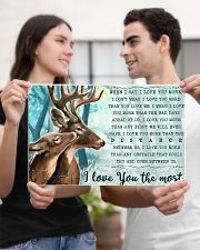 Hunting Deers I Love You The Most 17x11 Poster poster-landscape-17x11-lifestyle-20