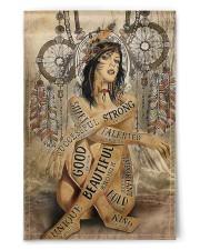 """Native Girl 11.5""""x17.5"""" Garden Flag front"""