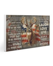 Deer Hunting Today Is A Good Day Gallery Wrapped Canvas Prints tile