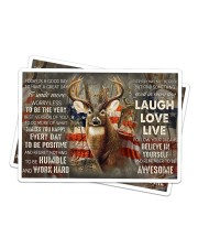 Deer Hunting Today Is A Good Day Sticker tile