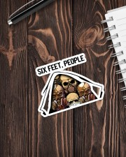 Skull - Six Feet - People Sticker - Single (Vertical) aos-sticker-single-vertical-lifestyle-front-05