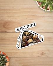 Skull - Six Feet - People Sticker - Single (Vertical) aos-sticker-single-vertical-lifestyle-front-07