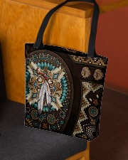 Native American Pride Mandala Pattern All-over Tote aos-all-over-tote-lifestyle-front-02