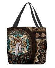 Native American Pride Mandala Pattern All-over Tote front
