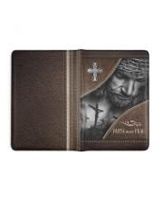 Jesus Faith Over Fear  Medium - Leather Notebook full