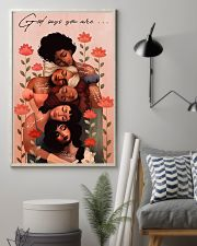 God Says You Are Black Girl Beautiful 11x17 Poster lifestyle-poster-1