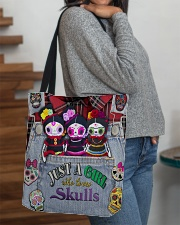 Just A Girl Who Loves Skull  All-over Tote aos-all-over-tote-lifestyle-front-09