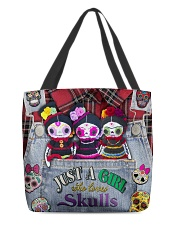 Just A Girl Who Loves Skull  All-over Tote front