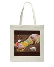 Cute Piggy Tote Bag thumbnail