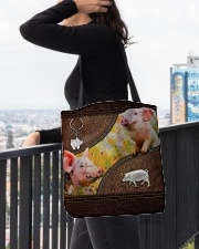 Cute Piggy All-over Tote aos-all-over-tote-lifestyle-front-05