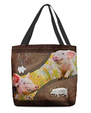 Cute Piggy All-over Tote front