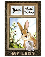 Rabbit Your Butt Napkins My Lady 11x17 Poster front