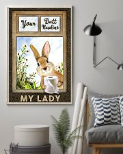 Rabbit Your Butt Napkins My Lady 11x17 Poster lifestyle-poster-1
