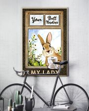 Rabbit Your Butt Napkins My Lady 11x17 Poster lifestyle-poster-7