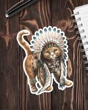 Native Cat Sticker - Single (Vertical) aos-sticker-single-vertical-lifestyle-front-05