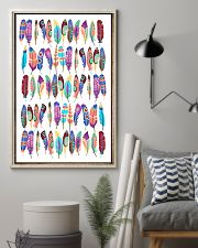 Native American Feather 11x17 Poster lifestyle-poster-1