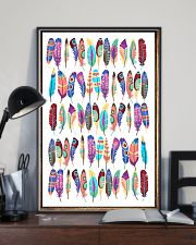 Native American Feather 11x17 Poster lifestyle-poster-2