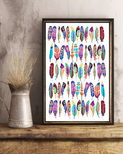 Native American Feather 11x17 Poster lifestyle-poster-3
