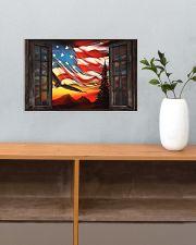 Eagle Proud American  17x11 Poster poster-landscape-17x11-lifestyle-24