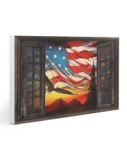 Eagle Proud American  30x20 Gallery Wrapped Canvas Prints thumbnail