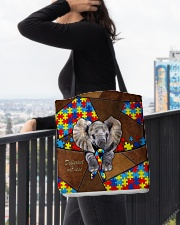 Autism Elephant Different Not Less  All-over Tote aos-all-over-tote-lifestyle-front-05