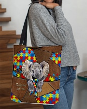 Autism Elephant Different Not Less  All-over Tote aos-all-over-tote-lifestyle-front-09