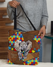 Autism Elephant Different Not Less  All-over Tote aos-all-over-tote-lifestyle-front-10