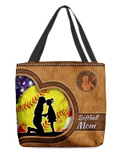 Softball mom loves you sport    All-over Tote front