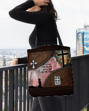 I Only Kneel For One Man All-over Tote aos-all-over-tote-lifestyle-front-05