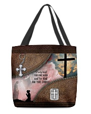 I Only Kneel For One Man All-over Tote front
